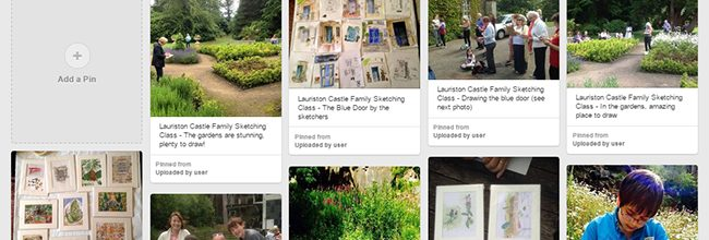 EdinburghSketcher sketching workshops – on Pinterest