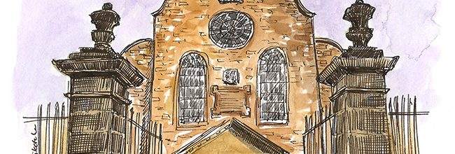 An upcoming sketch and history tour at Canongate Kirk