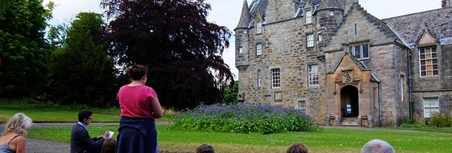 Sketching workshops at Lauriston Castle