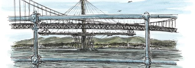 The Queensferry Crossing is taking shape across the Firth of Forth.