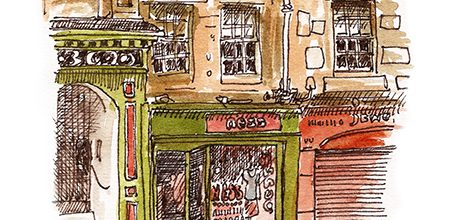 A trip down memory lane, to the Ness shop on Edinburgh's Royal Mile