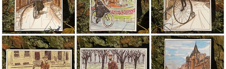 My Victorian Cycle postcards have arrived