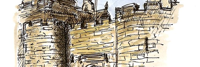 Capture the stunning city of Stirling with my latest Sketching Day Tour