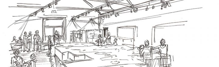 Sketching in the Engine Shed