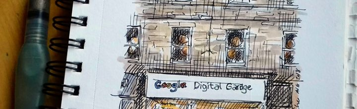 Have you noticed the new Google Digital Garage in Shandwick Place?