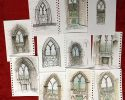 A sketching tour of Holyrood Palace