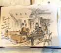 Bookbinding and sketching workshops with Arienas Collective