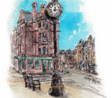 Time I sketched this Morningside landmark