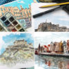 Online workshop 2: Layering watercolours in Leith