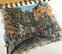 Victoria Street warm up – a time lapse sketch