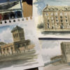 Watercolour workshops online