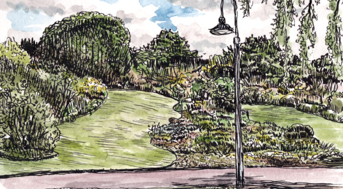 Drawing the Gardens
