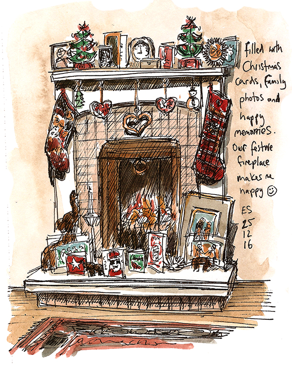 Christmas Fireplace 2016