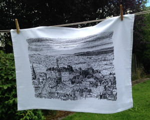 TeaTowel_EdinburghCastle