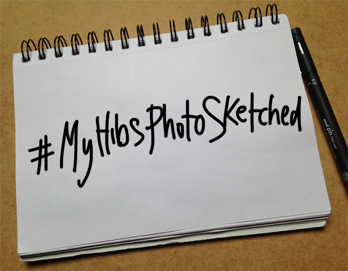 myhibsphotosketched
